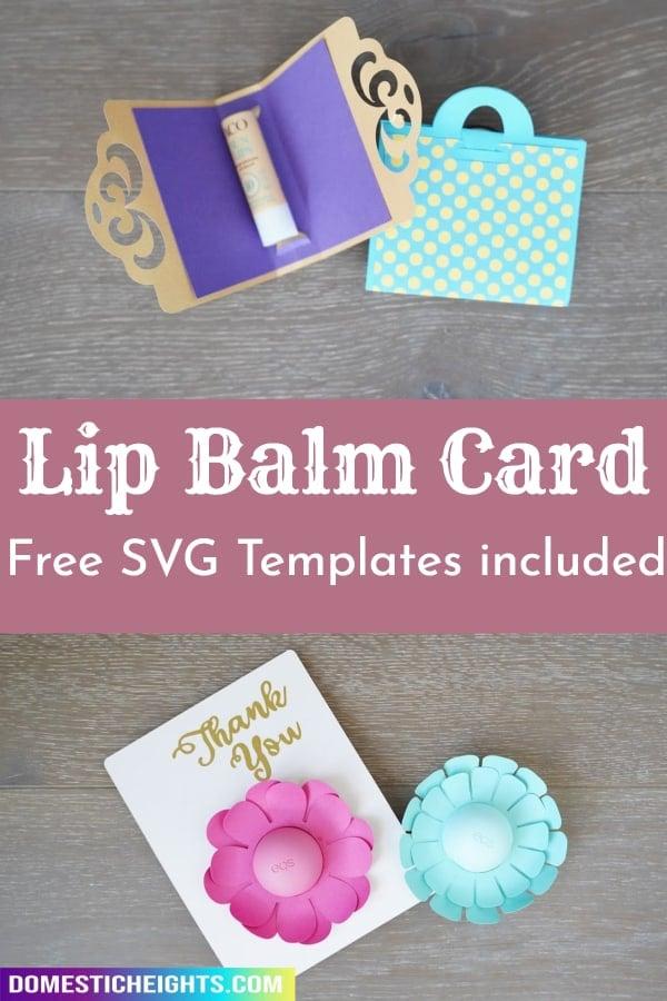 lip balm card template
