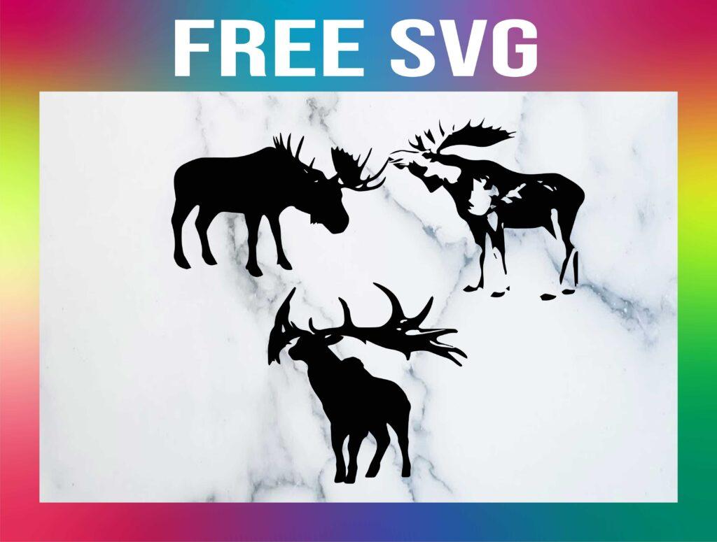 Free Moose SVG