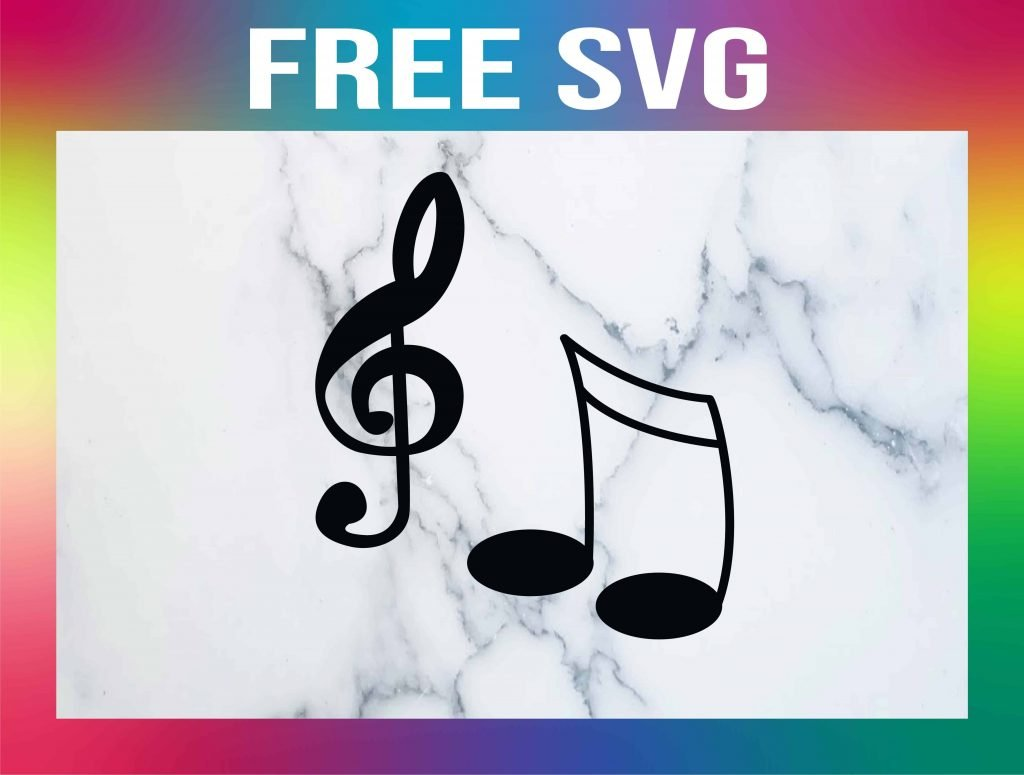 Free Music Notes SVG