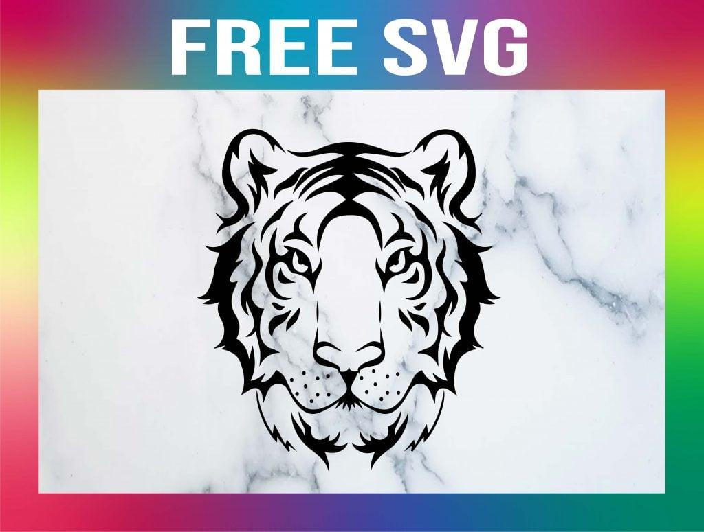 Free Tiger SVG