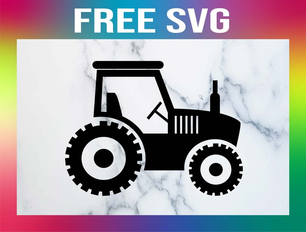 Free Tractor SVG