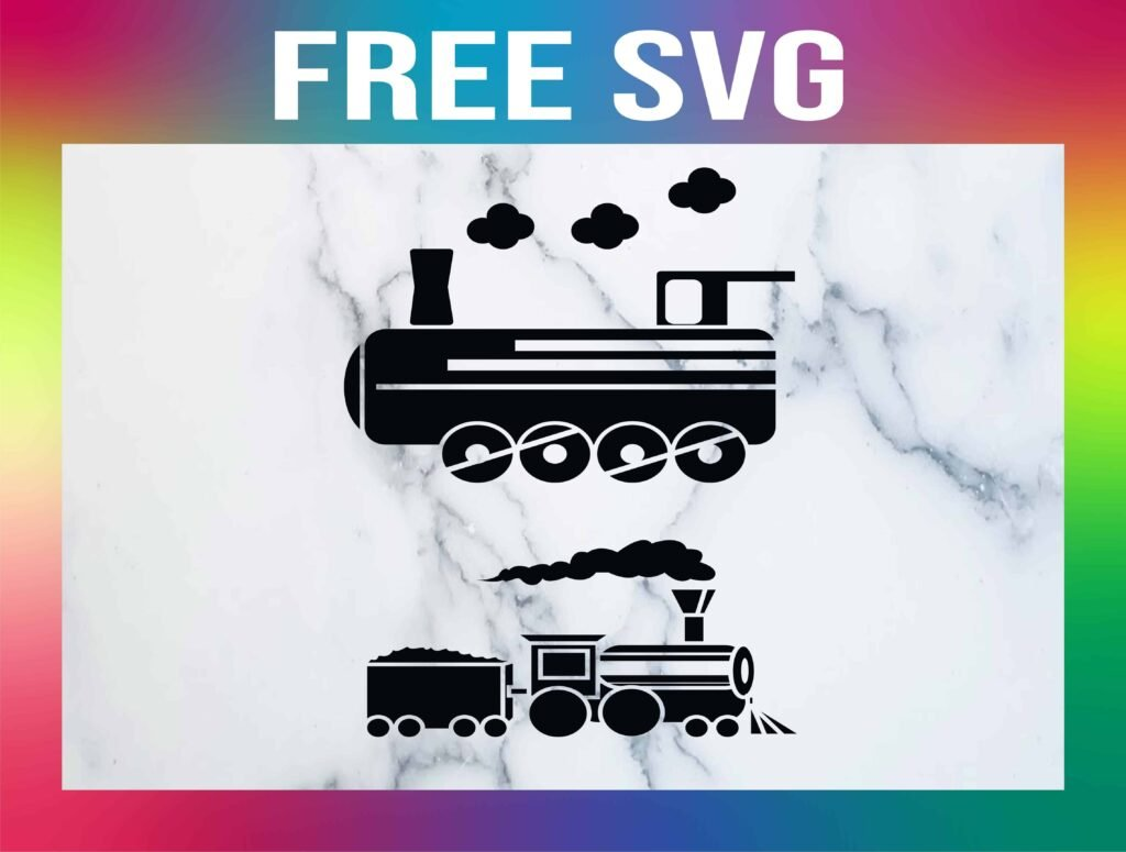 Free Train SVG