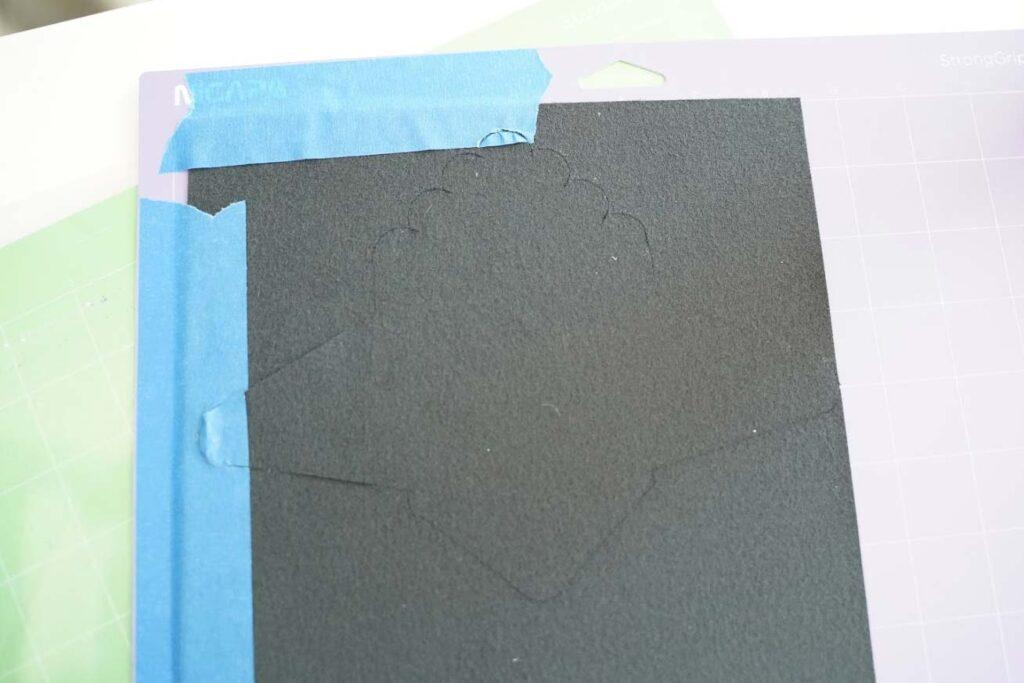 cricut leather wallet
