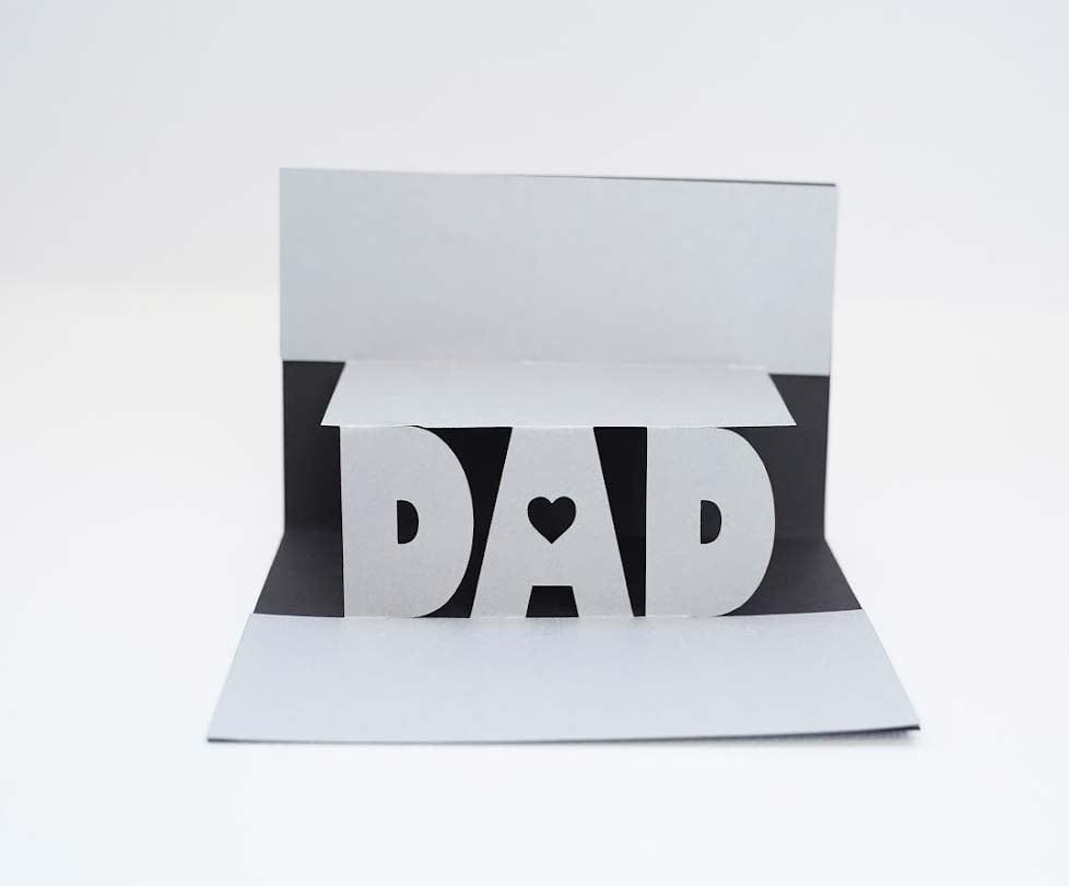 diy father birthday card