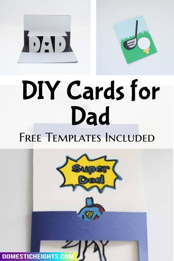 cricut fathers day card