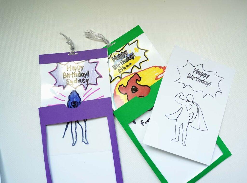 magic window slider card
