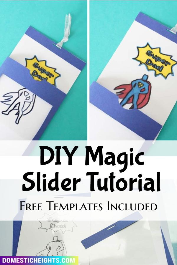 DIY magic slider card