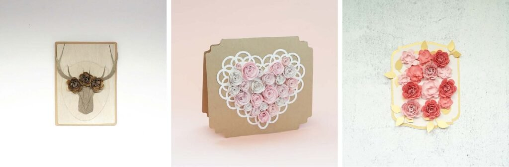 free cricut paper flower template