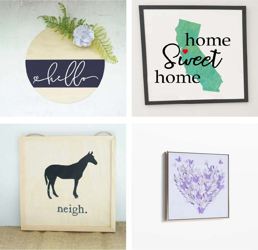 Cricut crafts to sell