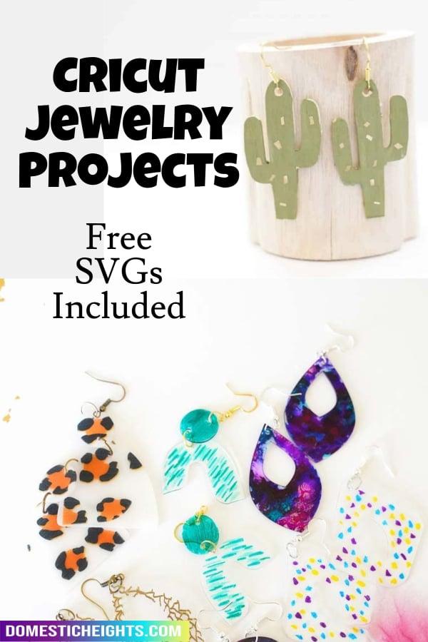 cricut jewelry ideas