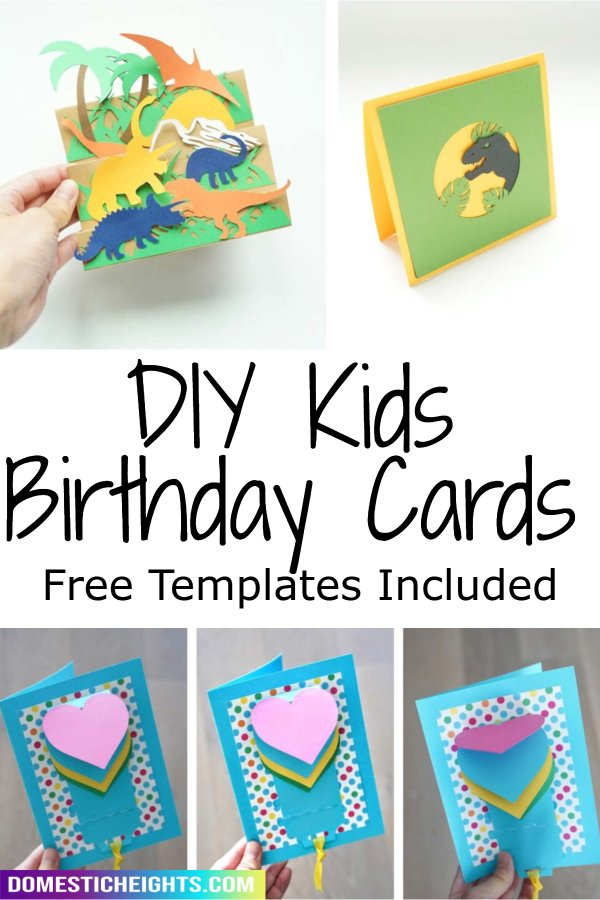 diy birthday cards for kids