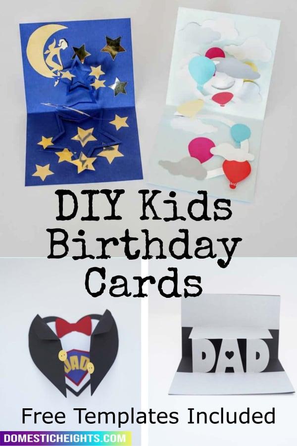 kids birthday card ideas