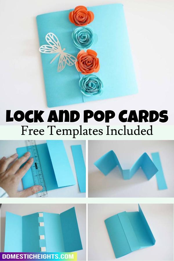 gatefold card lock and pop