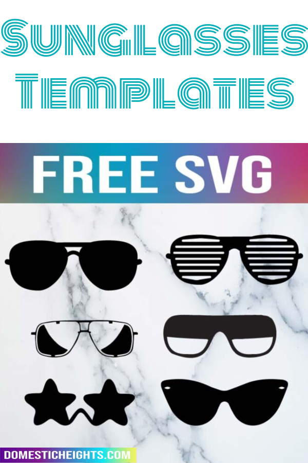 free sunglasses svg