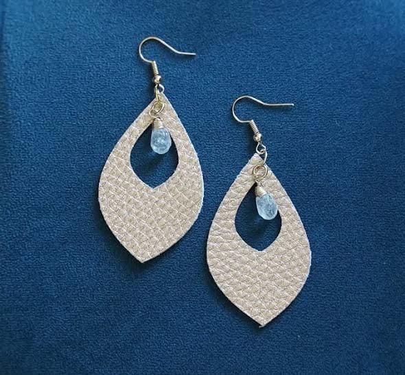 teardrop earring template