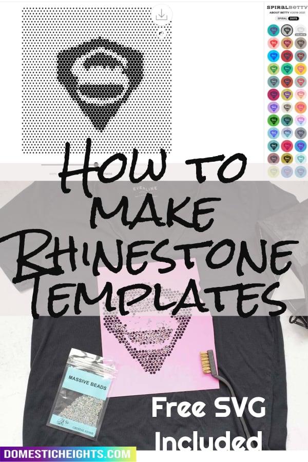 rhinestone template software