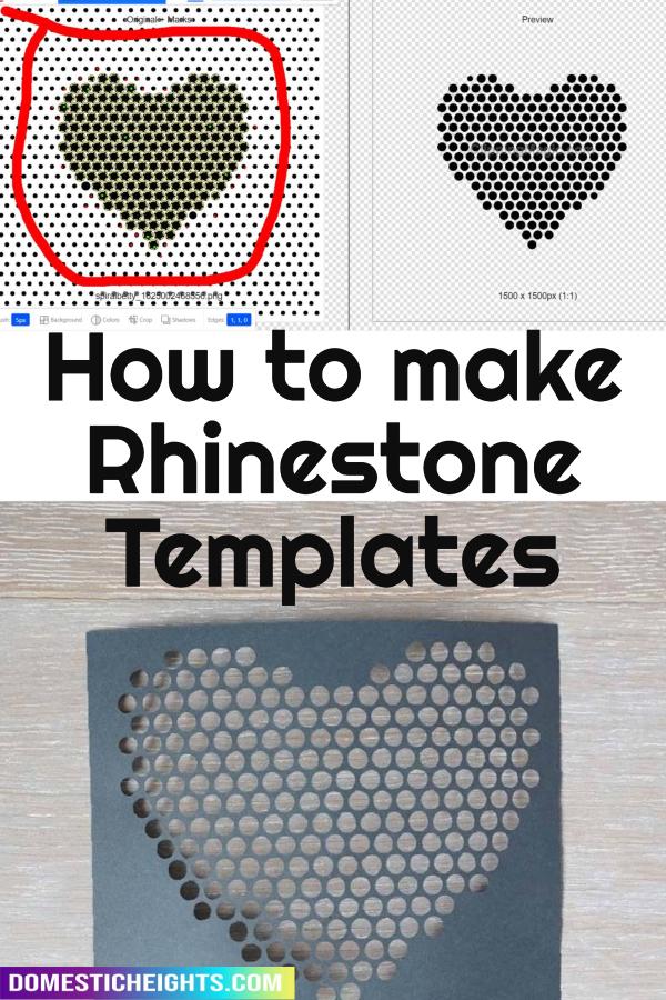 rhinestone template maker