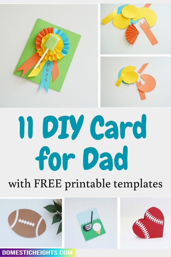 diy birthday cards for dad