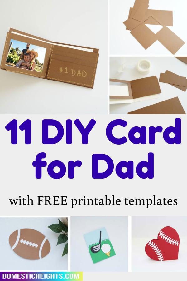 dad birthday card dad ideas