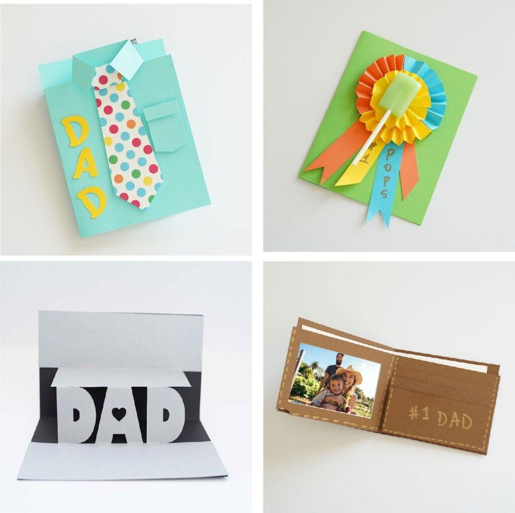 diy dad birthday card ideas