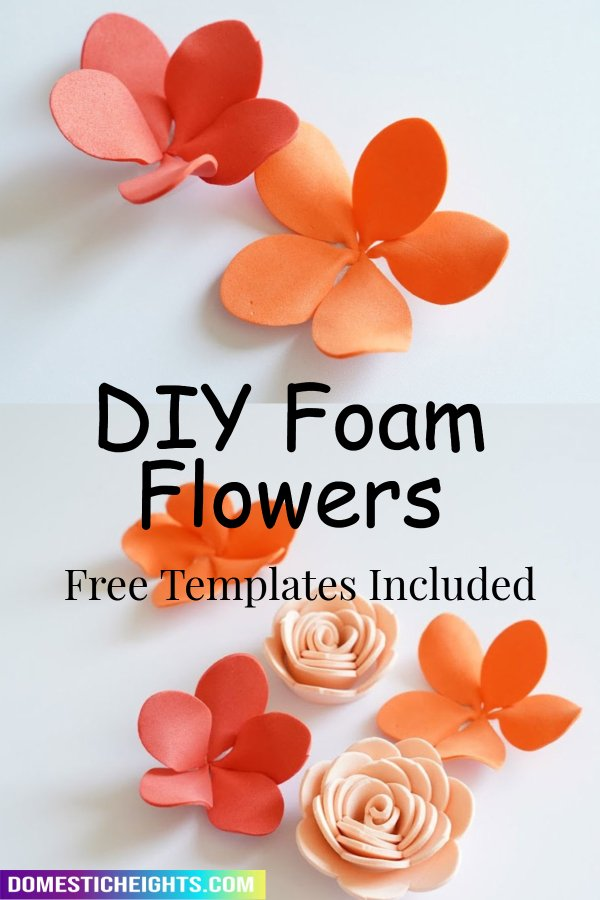 foam flowers for crafts