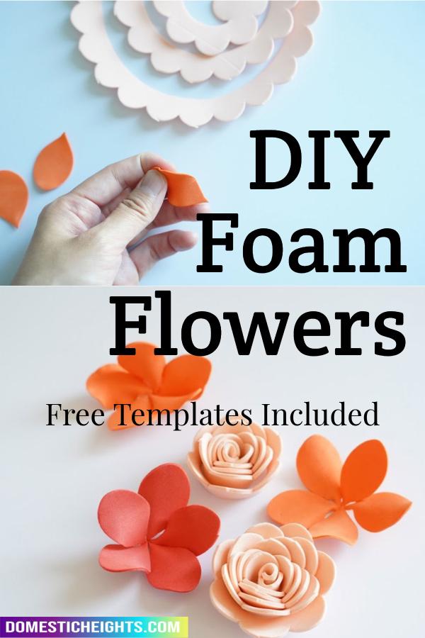 foam flowers diy
