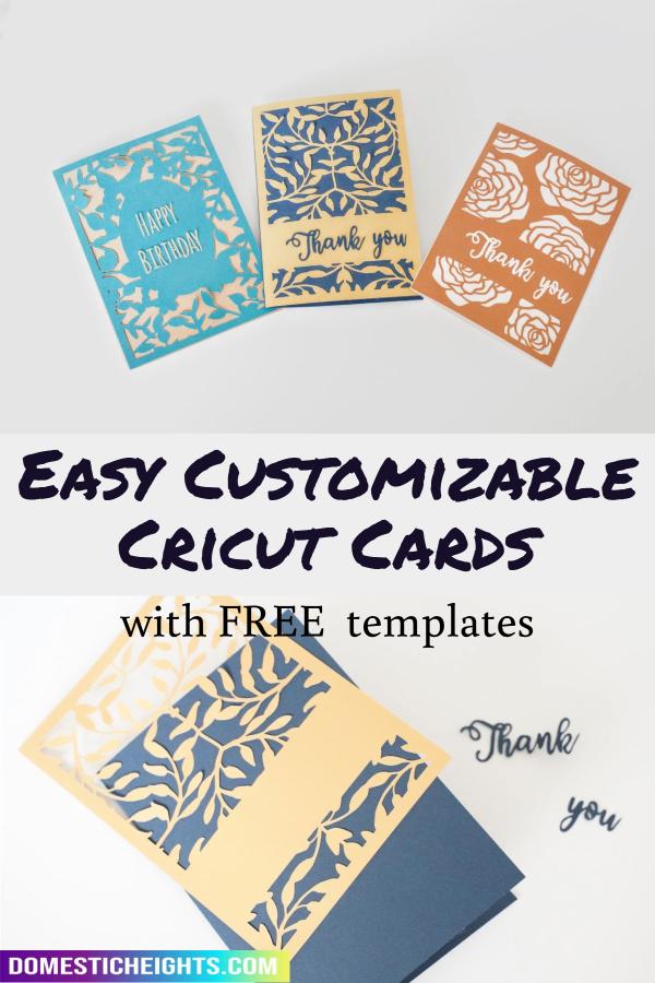 easy cricut card