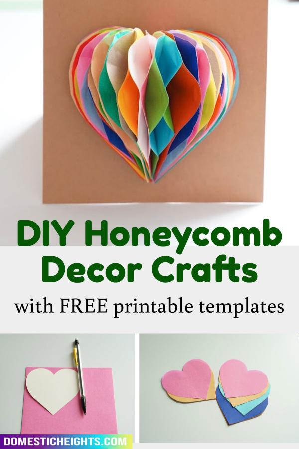 diy honeycomb paper decor