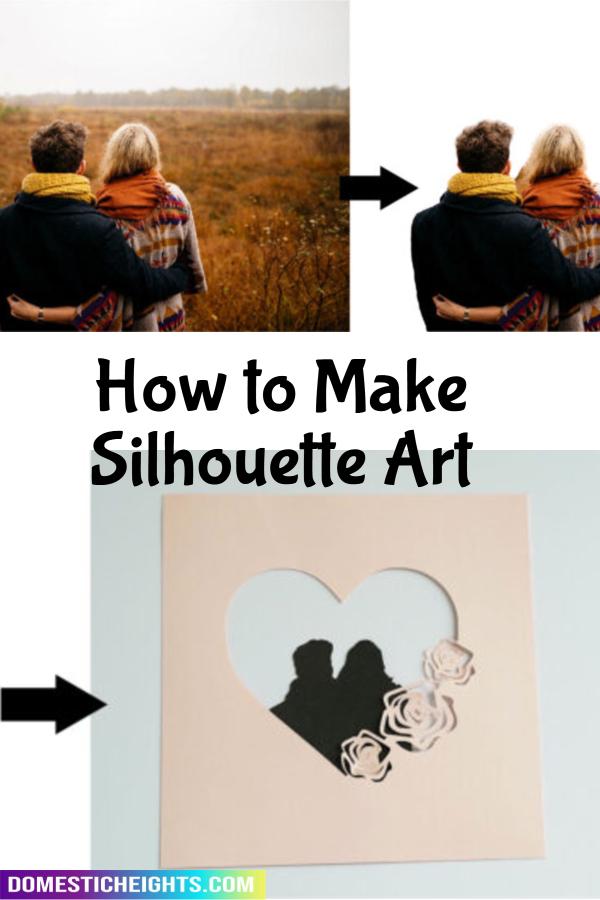 how to do a silhouette on cricut