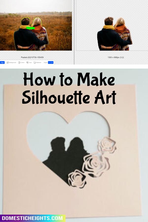 turn photo into silhouette tutorial