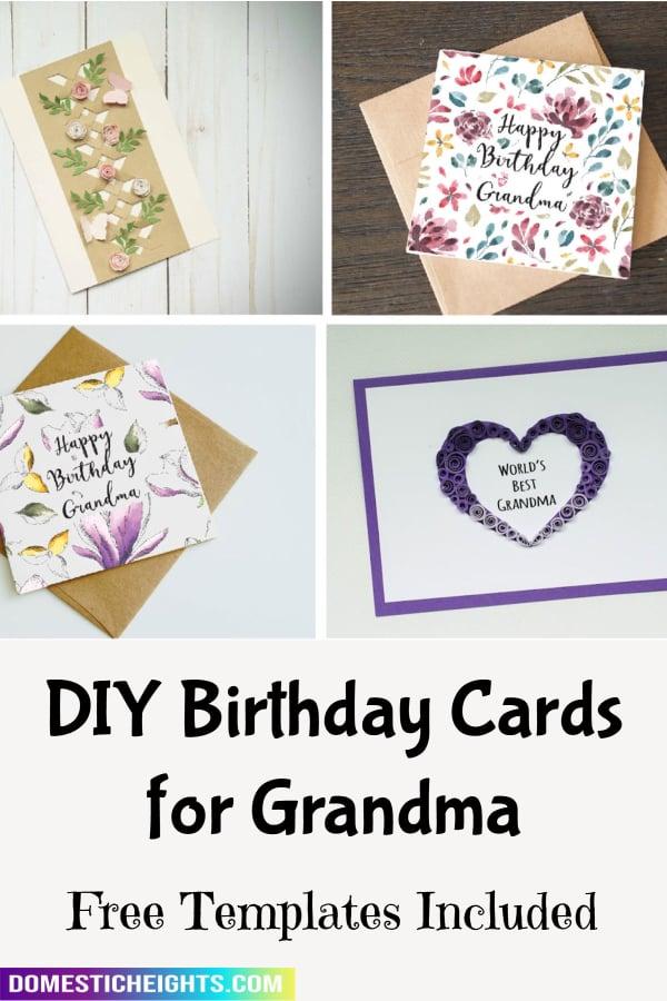 cute birthday card ideas for grandma