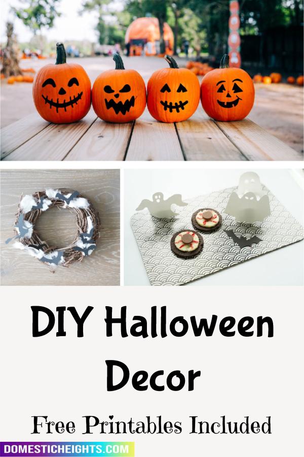 cheap halloween decor ideas
